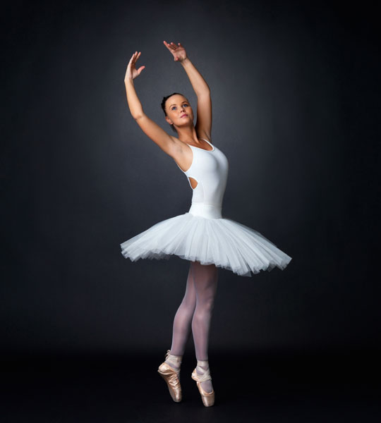 ballerina performing a ballet dance