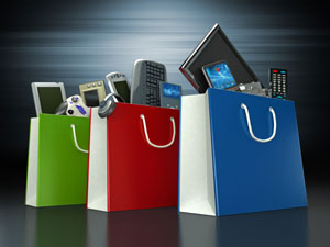 shopping for consumer electronics