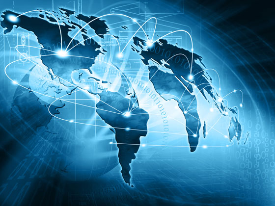 global Internet connectivity